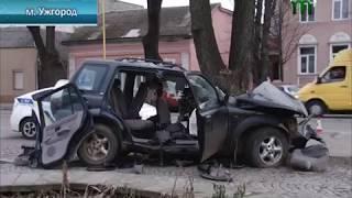 Троє іноземців загинули в ДТП в Ужгороді