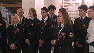 Студенты Всероссийского университета юстиции побывали с экскурсией в музее-панораме