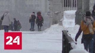 """""""Погода 24"""": над Россией бушует снежный шторм - Россия 24"""