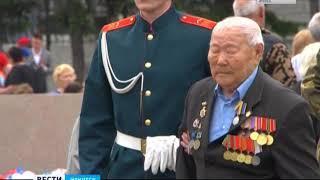 Акция памяти возле Вечного огня прошла 22 июня в Иркутске