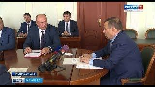 Александр Евстифеев обсудил с начальником Горьковской железной дороги ряд важных вопросов