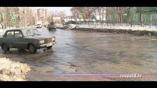 В Пензе на ремонт дорог потратят 250 млн. рублей