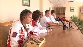 Пресс конференция Школы Швецова