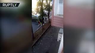 Видеокадры с места смертельного ДТП в Туапсе