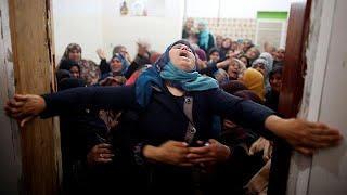 После протестов в секторе Газа — похороны
