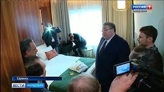 В Саранске с рабочим визитом побывал зампред Правительства России Виталий Мутко
