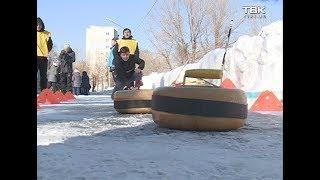 В Красноярске прошла первая городская «Радужная Паралимпиада»