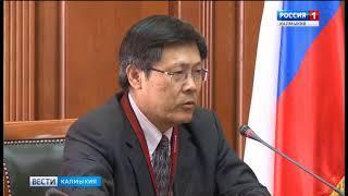 Глава республики Алексей Орлов встретился с делегацией из КНР