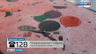 В Алтайском крае из сельского клуба украли световые фильтры для цветомузыки