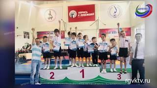 Махачкалинские школьники завоевали 9 медалей на первенстве Ингушетии по спортивной гимнастике