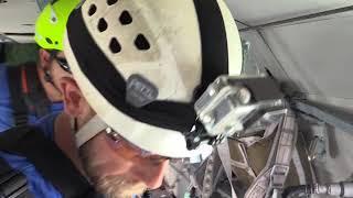 Учения спасателей авиации МЧС