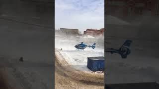 В Воронеж за 15-летним тяжелобольным пациентом прилетел вертолёт