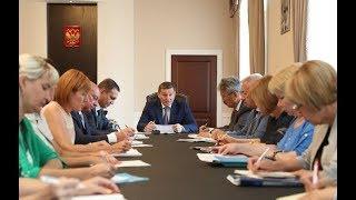 Андрей Бочаров поставил задачи по подготовке образовательных учреждений к новому учебному году