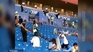 В Ростове болельщики Саудовской Аравии после матча с Уругваем убрали мусор на стадионе