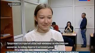 Всего 12 шахматистов участвуют в открытом чемпионате Приамурья