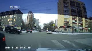ДТП на перекрестке Крауля-Мельникова