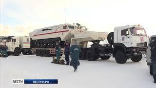 Спасатели готовятся к паводку в Великом Устюге