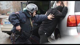 Полиция России-Полицейские задержали участников преступной группы