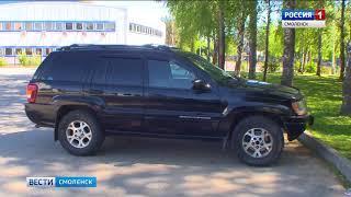 Смоленский автослесарь «одолжил» машину у клиента. И попался полицейским