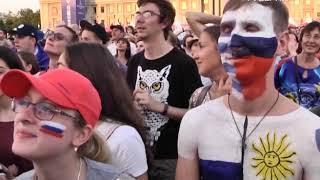 """На стадионе """"Самара Арена"""" за игрой сборной России следили почти 42 тысячи человек"""