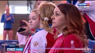 Соревнования по спортивной гимнастике в Пензе собрали более 200 спортсменов Поволжья
