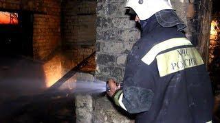 На пожаре в Городищенском районе погибли двое детей