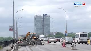 На Коммунальном мосту в Перми перекрыли еще один участок