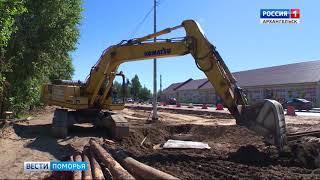 Сегодня «Главная тема» будет посвящена дорожному строительству