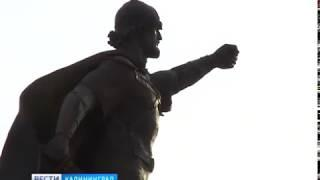 Памятник Александру Невскому в Калининграде торжественно откроют на следующей неделе
