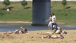 МЧС предупреждает об аномально жаркой погоде
