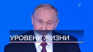Начало программы  Вечерние Новости   Первый Канал Уровень Жизни