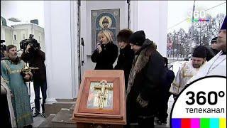Новую часовню имени царя Николая II освятили и открыли для прихожан в Клину