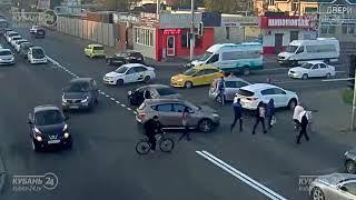 ДТП на ул. Российской и ул. Солнечная 18.10.2018