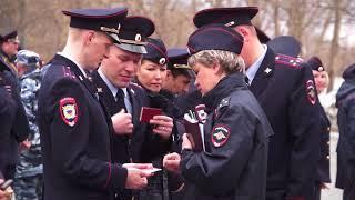 Камчатские полицейские переоделись в куртки и фуражки