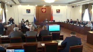Врио губернатора Сергей Носов провел первое заседание правительства Колымы