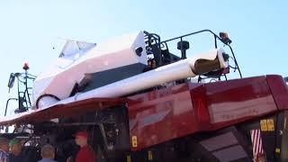 В Саратове открылась сельскохозяйственная выставка «День поля 2018»