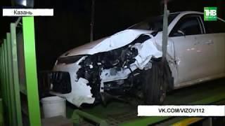 Зацепил автомобиль, столкнулся со светофором - ТНВ
