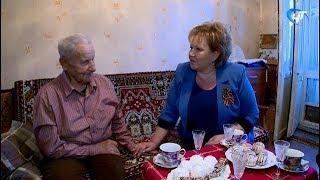 Ветерана-авиатора Семена Романовича Григорьева с праздником поздравила Елена Писарева