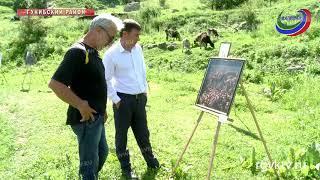 В Гунибе прошел 2-й этап музейного проекта «Царская поляна. Арт-Гуниб»