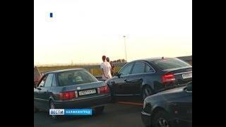 Калининградская область встала в пробках на выходных