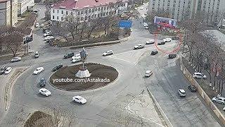 Astakada Владивосток ДТП 30 апреля 2018 Инструментальный завод
