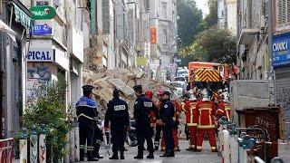Франция: в центре Марселя обрушились два здания