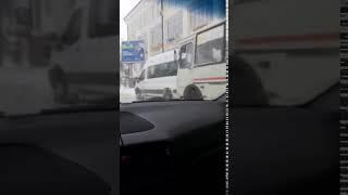 ДТП в Смоленске на площади Победы