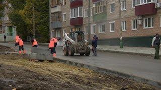 Ремонт дороги на улице Попова в Пензе подходит к завершающей стадии