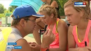 Первенство Сибири по пляжному волейболу проходит в Барнауле