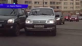 Видеорегистратор  ДТП Лексус и Киа на Ленина  Место происшествия 31 05 2018
