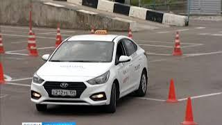 Красноярец занял третье место на конкурсе таксистов