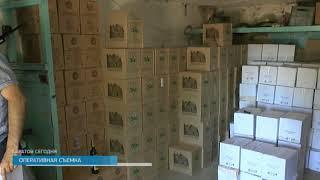 В Саратове изъята партия контрафактного алкоголя на сумму 12 миллионов рублей