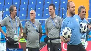 Подготовка ко второму матчу ЧМ на «Ростов Арене»
