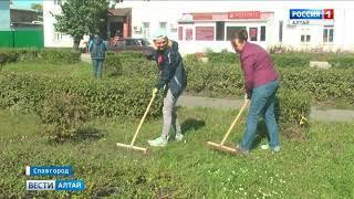 В нескольких районах Алтайского края прошли субботники